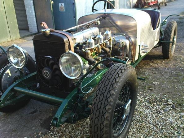Alvis 3 5 special trevor j hirst restoration coachwork